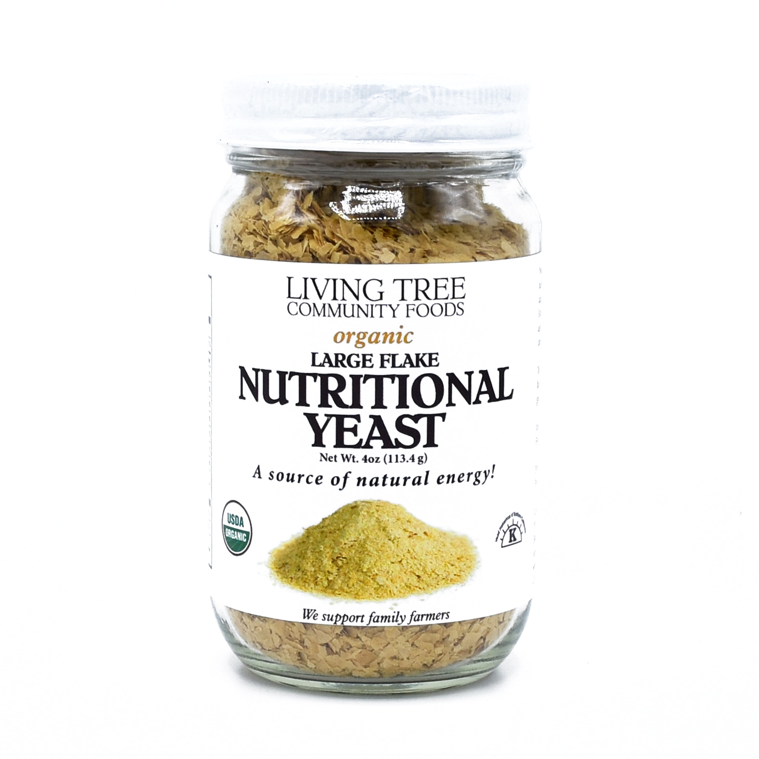 Nutritional yeast 4oz. jar