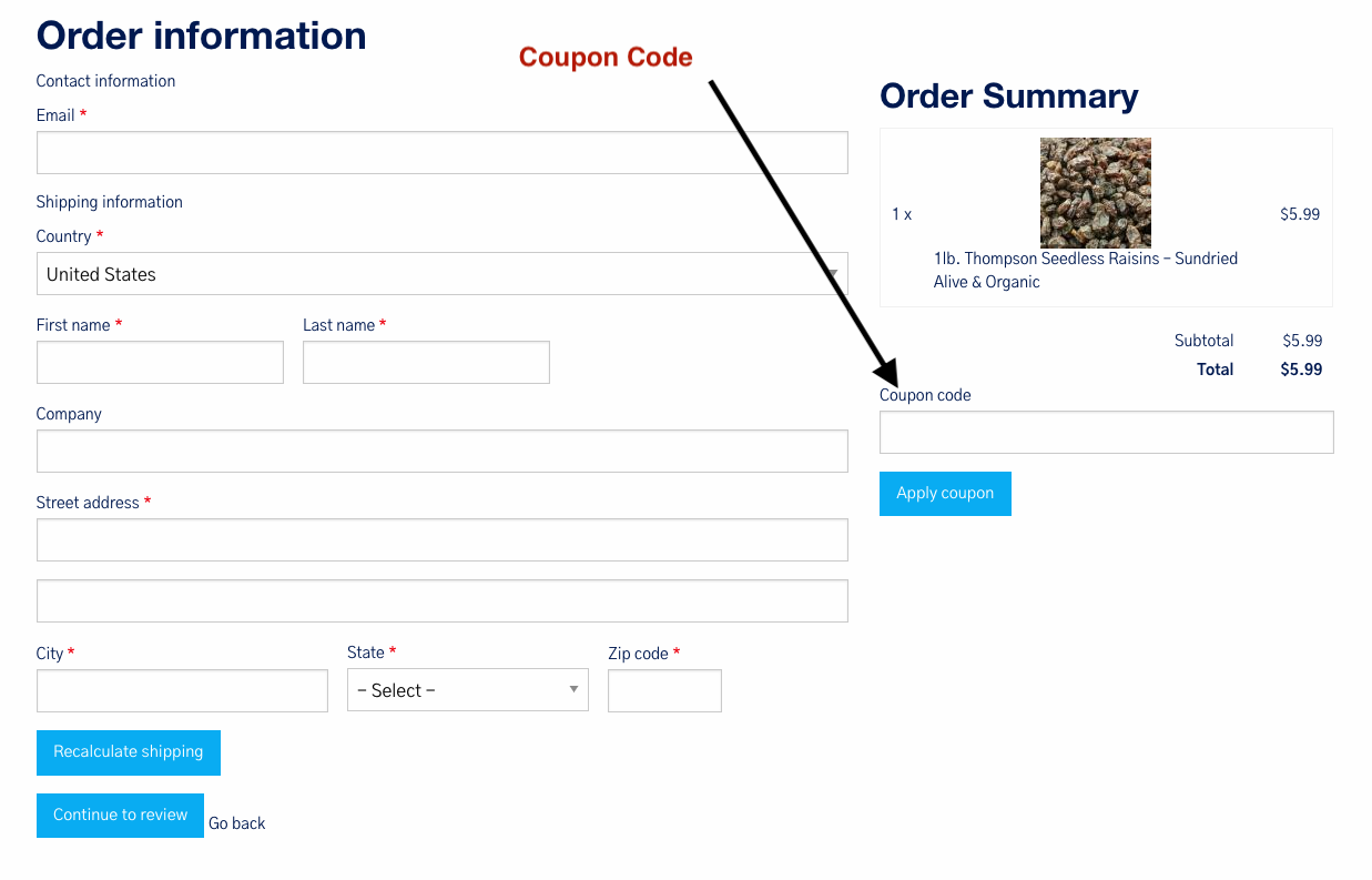 coupon code guide
