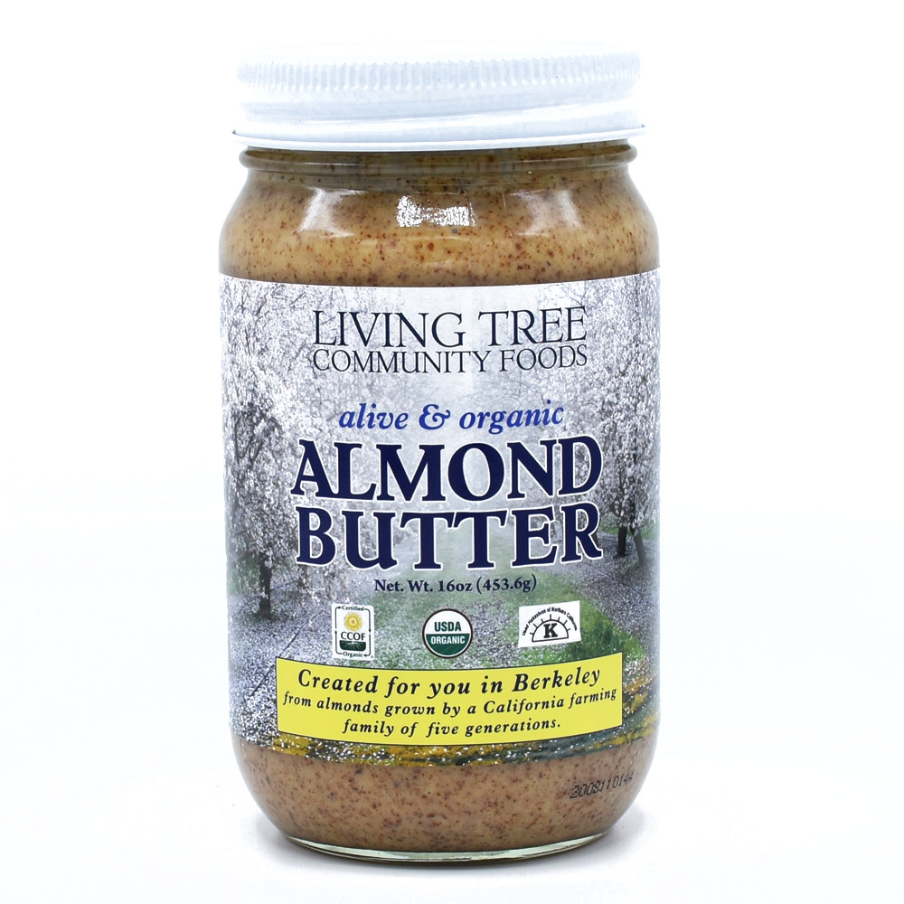 Almond Butter 16oz - Alive and Organic
