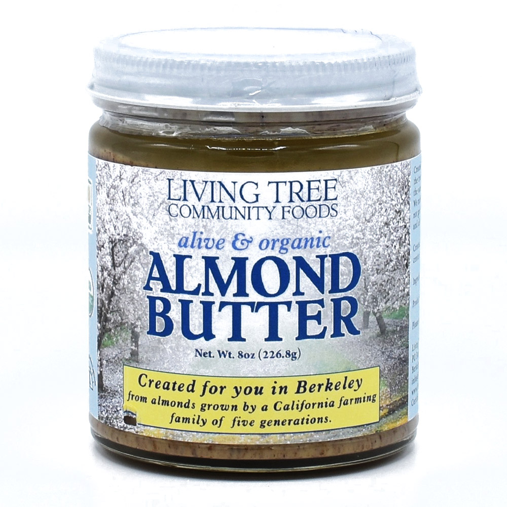 Almond Butter 8oz - Alive and Organic