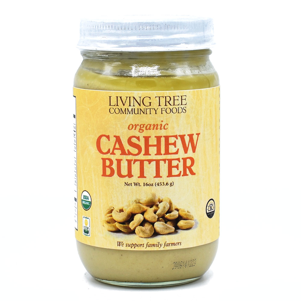Cashew Butter 16oz - Alive and Organic
