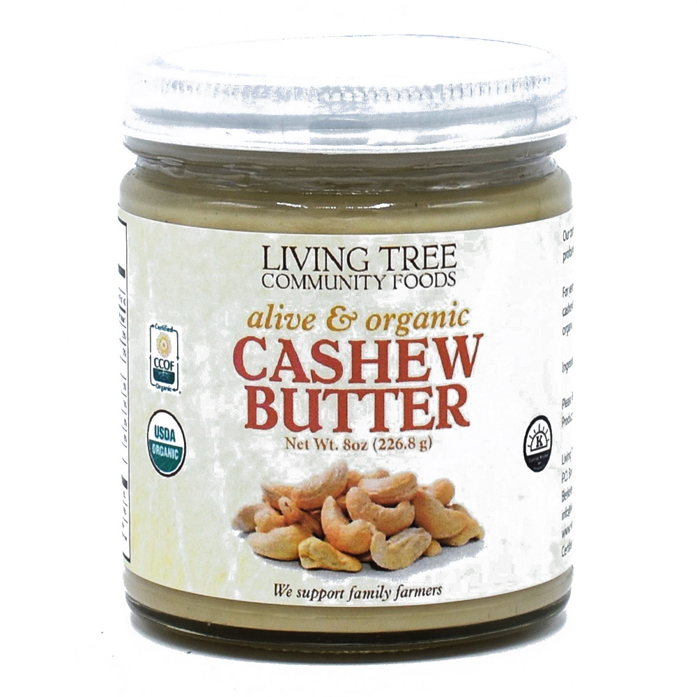Cashew Butter 8oz - Alive and Organic