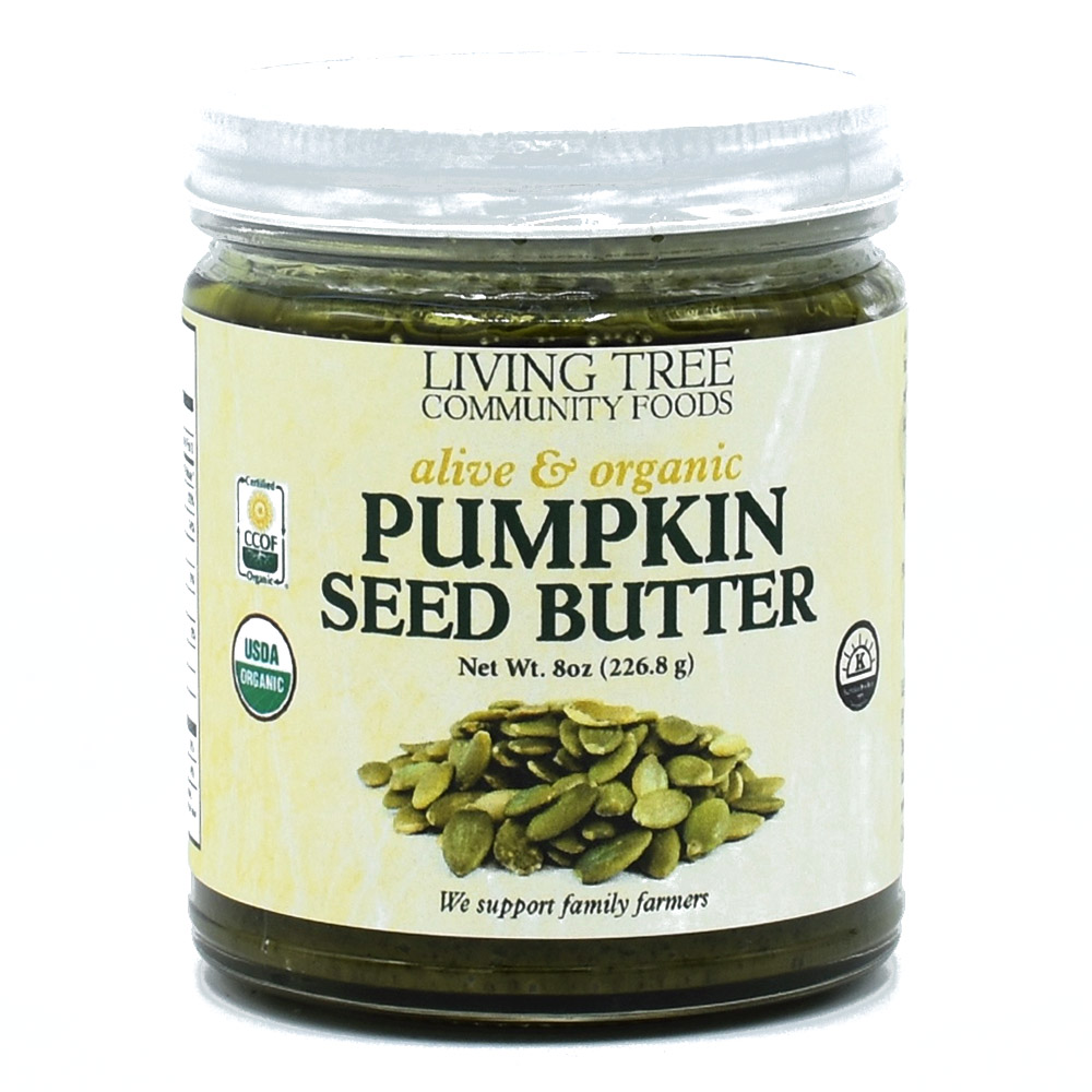 Pumpkin Seed Butter Raw, Alive and Organic