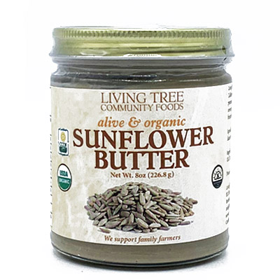 Sunflower Butter Raw Alive and Organic