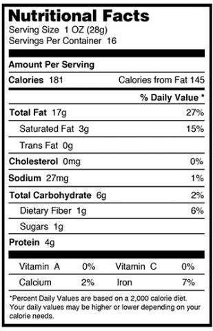 Milk of paradise nutritional info