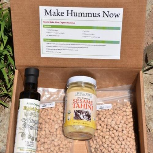 """Make hummus now"" kit image"