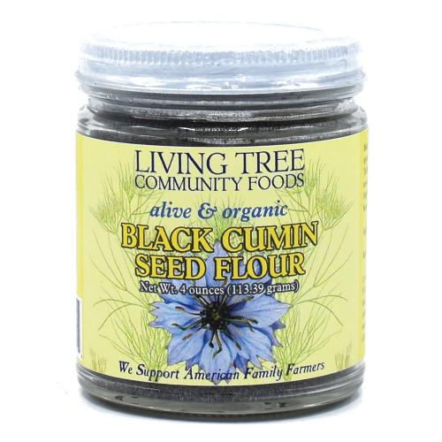 Black Cumin Seed Flour Raw, Alive and Organic