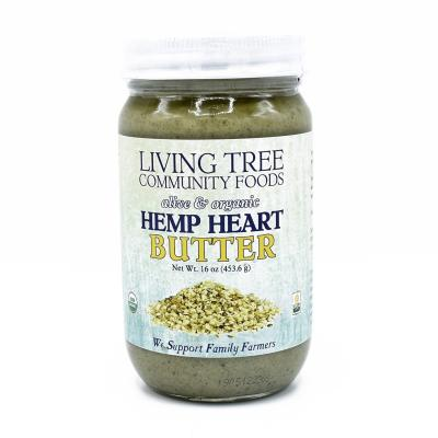 Hemp heart butter 16oz.