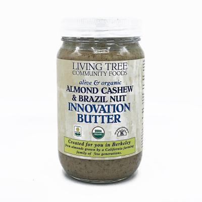 Almond cashew and brazil nut butter 16oz.