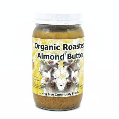 organic roasted almond butter 16 oz.
