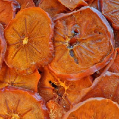 Organic dried persimmons