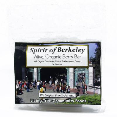 Spirit of Berkeley – Alive, Organic Berry Bar