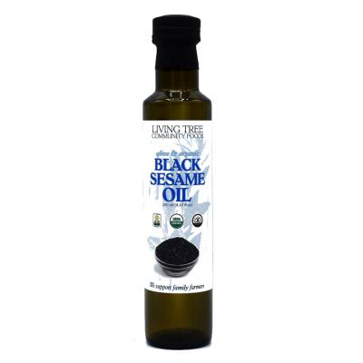 Black Sesame Oil – Alive and Organic