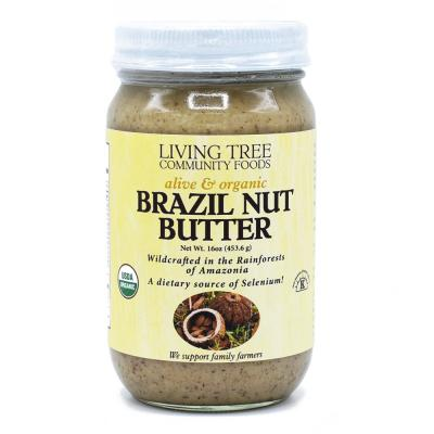 Brazil Nut Butter - Raw, Alive and Organic