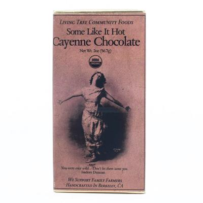 """Some Like It Hot"" Cayenne Chocolate Bar"