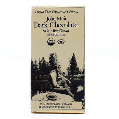 Dark Chocolate Bar – Alive & Organic 81% Cacao