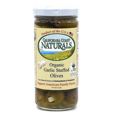 Garlic Stuffed Olives Organic