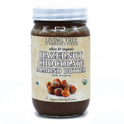 Hazelnut Chocolate Almond Butter - Raw, Alive and Organic