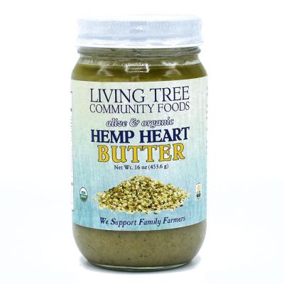 Hemp Heart Butter - Alive and Organic