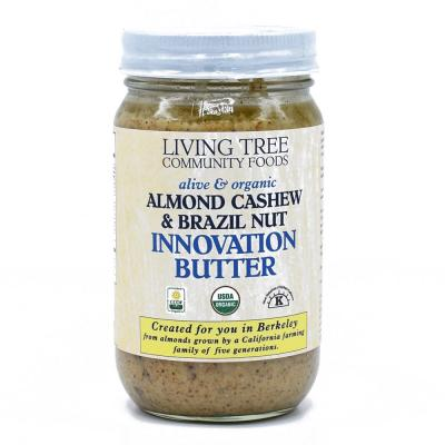 Almond Cashew Brazil Nut Innovation Butter