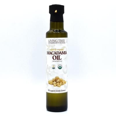Macadamia Oil (American Grown) – Alive and Organic
