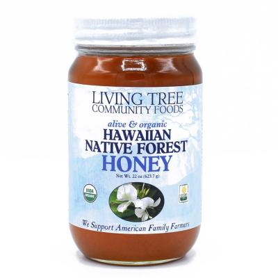 Hawaiian Native Forest Honey Raw, Alive and Organic