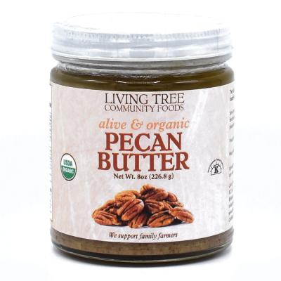 Pecan Butter Raw, Alive and Organic
