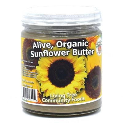 Sunflower Butter Raw, Alive and Organic