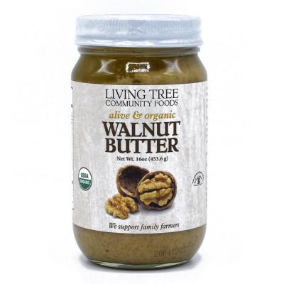 Walnut Butter - Raw, Alive and Organic